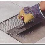 Как заменить напольную плитку?