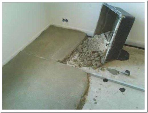 Как подготовить пол под плитку?