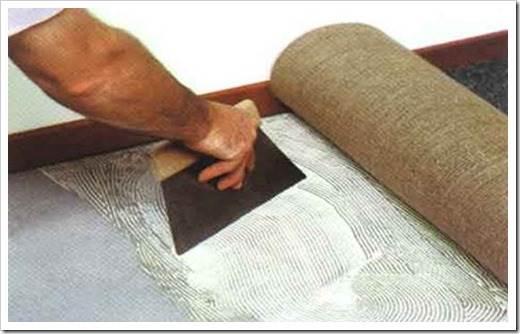 Как правильно стелить ковролин?
