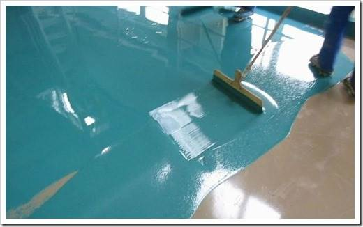 Какой краской покрасить бетонный пол?