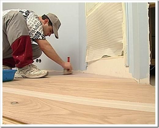 Какой краской покрасить деревянный пол?