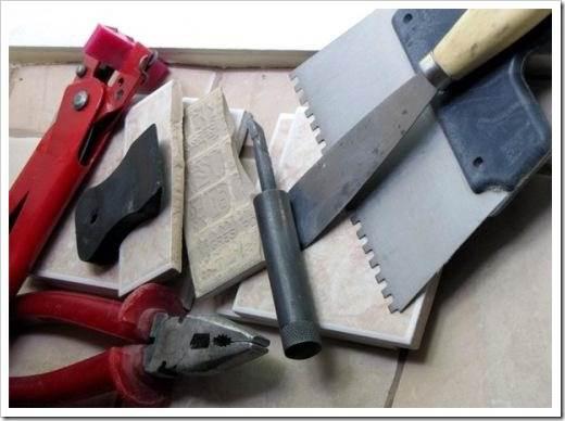 Для укладки Вам понадобится набор инструментов:
