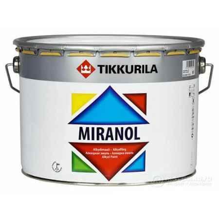 Купить Эмаль алкидная Miranol Тhixotropic (Миранол Тиксотропный), глянцевая, База С 9 л, Tikkurila (Тиккурила)
