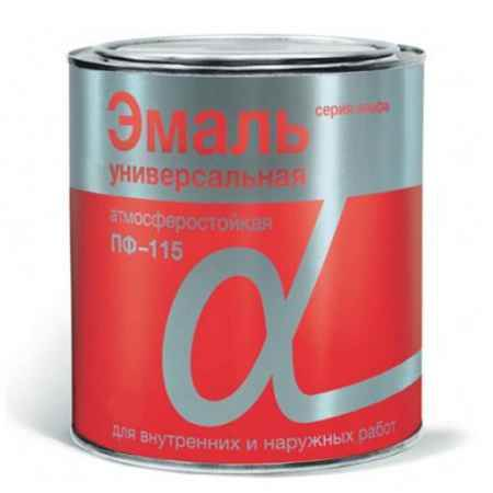 Купить Эмаль ПФ-115 Альфа 1.9 кг., вишневая Krafor (Крафор)