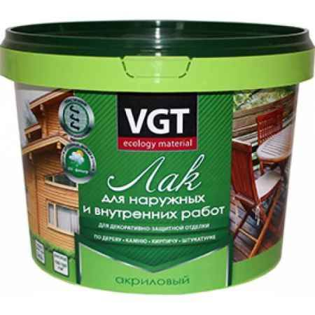 Купить Лак для наружных и внутренних работ, 0,9 кг, глянцевый ВГТ (VGT)