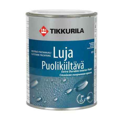Купить Краска акрилатная Luja (Луя) 40, полуглянцевая, 0.9 л, Tikkurila (Тиккурила)