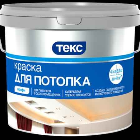Купить Краска водно-дисперсионная для потолков Профи, 1,8 кг ТЕКС (TEKS)