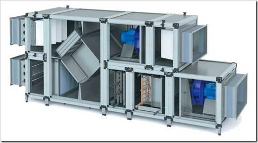 Устройство установки: как работает современная вентиляция?