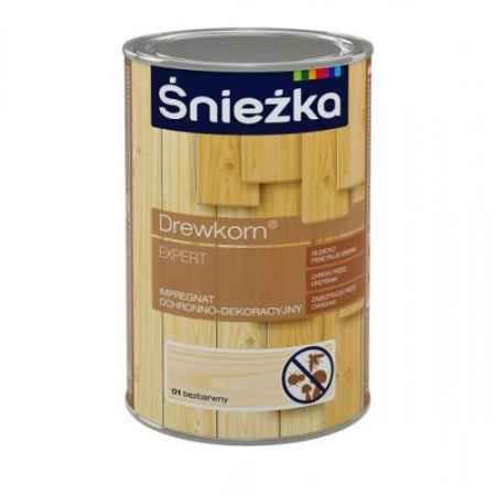 Купить Антисептик Drewkorn 0.9 л., темный орех Sniezka (Снежка)