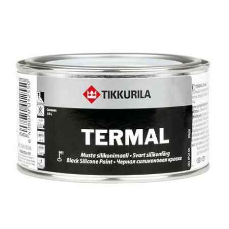 Купить Краска силиконовая Termal (Термал), 0.33 л., черный Tikkurila (Тиккурила)