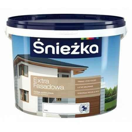 Купить Краска акриловая фасадная Extra Fasadowa 10 л., Sniezka (Снежка)