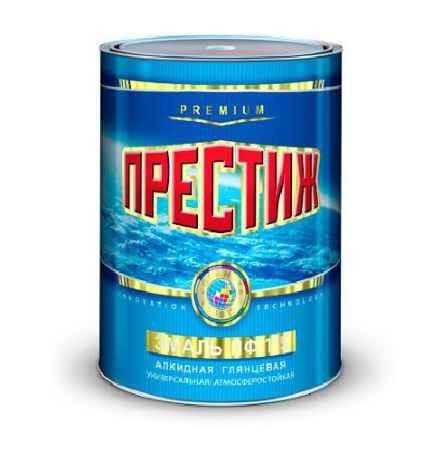 Купить Эмаль ПФ-115 0.9 кг., оранжевая Престиж