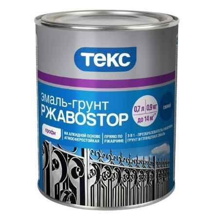 Купить Грунт-эмаль по ржавчине, 0,9 кг, красно-коричневый ТЕКС (TEKS)