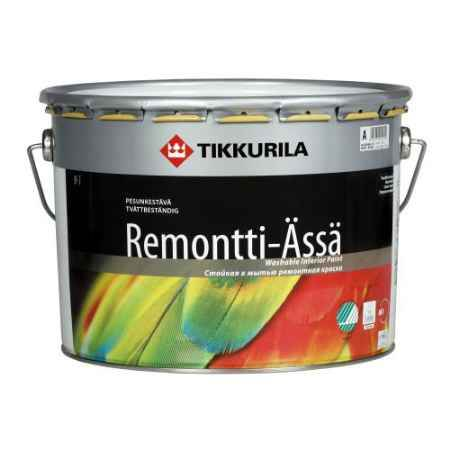 Купить Краска акрилатная полуматовая Remonti Assa (Ремонти-ясся), 9 л. Tikkurila (Тиккурила)