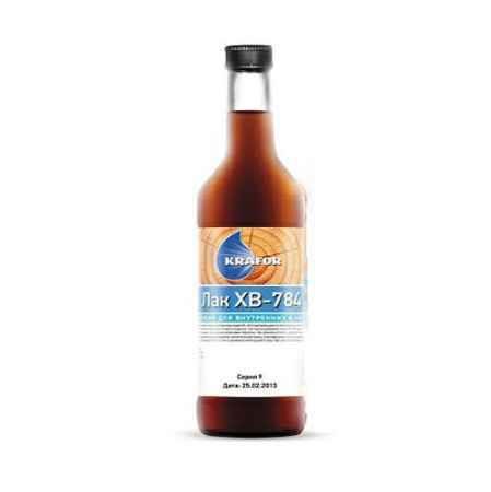 Купить Лак ХВ-784 0.5 л., янтарь Krafor (Крафор)