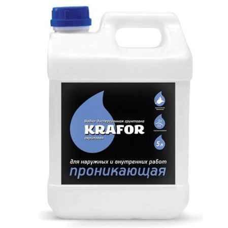 Купить Грунтовка проникающая универсальная 5 л. Krafor (Крафор)