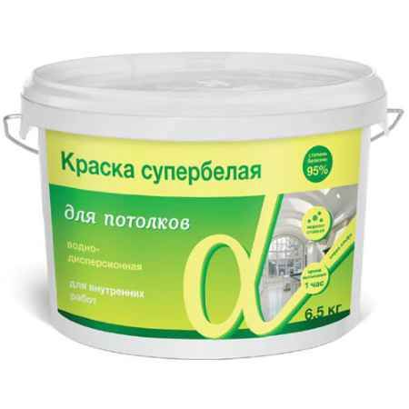 Купить Краска водно-дисперсионная для потолков Альфа, 14 кг. Krafor (Крафор)