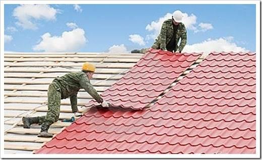 Тип крыши, подходящий для металлочерепицы