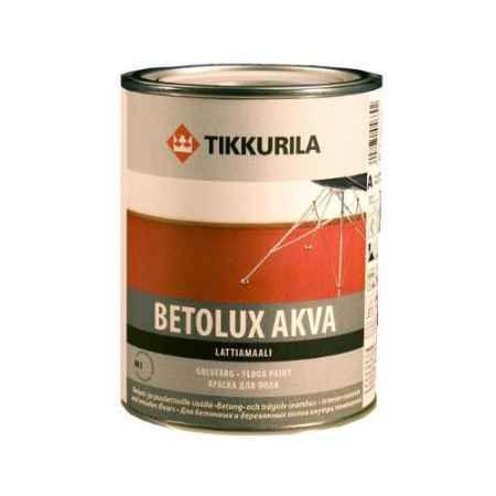 Купить Краска полиуретано-акриловая для пола Betolux Akva (Бетолюкс Аква), 2.7 л. Tikkurila (Тиккурила)