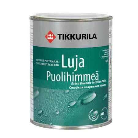 Купить Краска акрилатная Luja (Луя) 20 База С, полуматовая, 0.9 л, Tikkurila (Тиккурила)