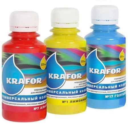 Купить Колер универсальный №1 100 мл., лимонный Krafor (Крафор)