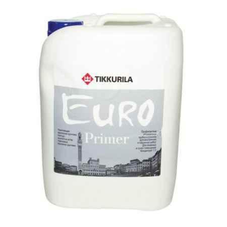 Купить Грунтовка акриловая (концентрат) Euro Primer (Евро Праймер), 10 л, бесцветная Tikkurila (Тиккурила)
