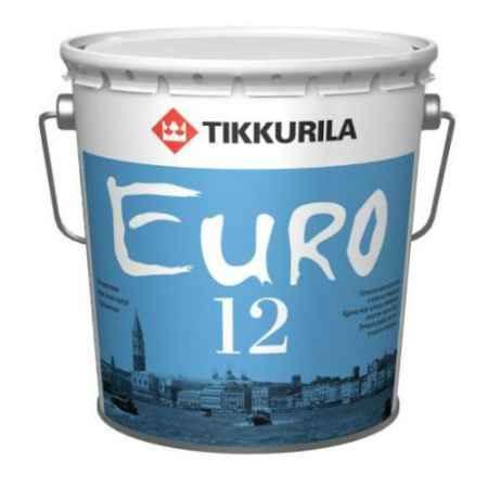 Купить Краска латексная Euro (Евро)-12, 2.7 л, белый Tikkurila (Тиккурила)