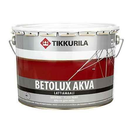 Купить Краска полиуретано-акрилатная для пола Betolux Akva (Бетолюкс Аква), 9 л. Tikkurila (Тиккурила)