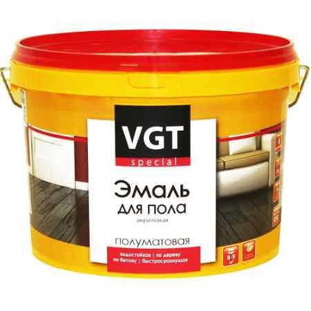 Купить Эмаль для пола ВД-АК-1179, 0,23 кг, металлик серебро ВГТ (VGT)
