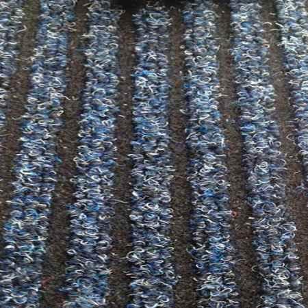 Купить Ковролиновая дорожка коллекция Antwerpen 5072, ширина 1 м., синий Ideal (Идеал)