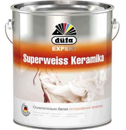 Купить Краска водно-дисперсионная Expert Superweiss Keramika (Эксперт Супервэйс Керамика), 2.5 л., Dufa (Дюфа)