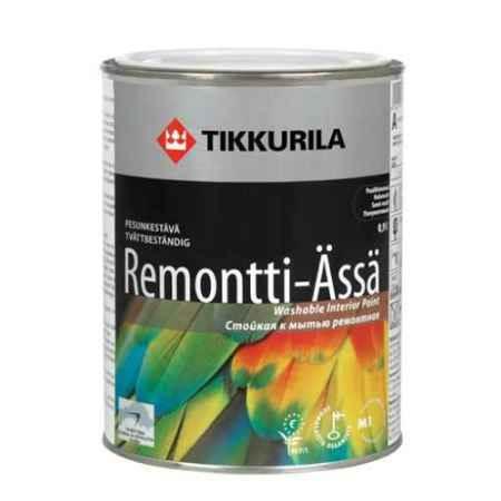 Купить Краска акрилатная полуматовая Remonti Assa (Ремонти-ясся), База С, 2.7 л. Tikkurila (Тиккурила)