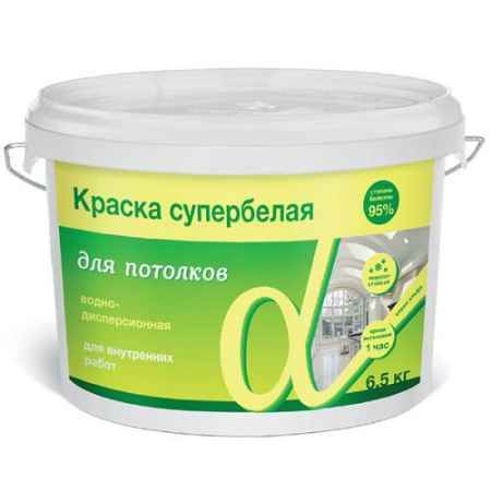 Купить Краска водно-дисперсионная для потолков Альфа 3 кг. Krafor (Крафор)