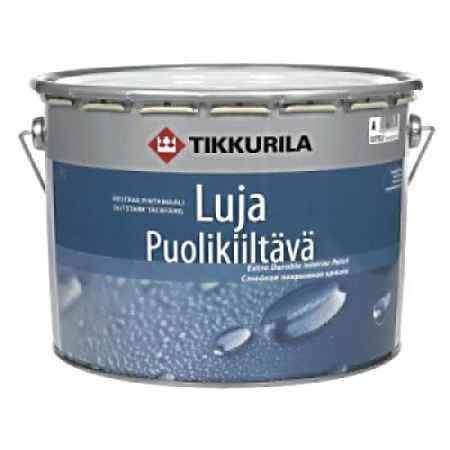 Купить Краска акрилатная Luja (Луя) 40, полуглянцевая, 9 л, Tikkurila (Тиккурила)