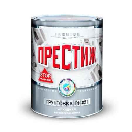 Купить Грунт ГФ-021, 20 кг., серый  Престиж