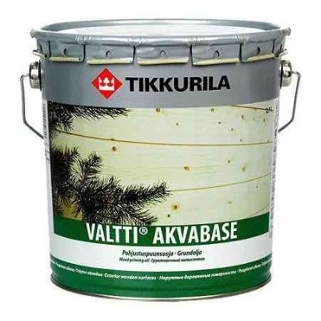 Купить Грунт-антисептик Valtti Akvabase (Валтти Аквабейс) для дерева, 9 л, бесцветный Tikkurila (Тиккурила)