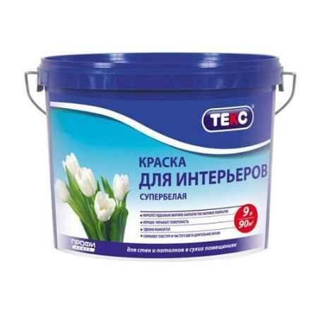 Купить Краска водно-дисперсионная интерьерная Профи, 4,5 кг ТЕКС (TEKS)