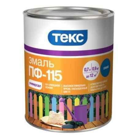 Купить Эмаль Универсал ПФ-115, 0,9 кг, синий ТЕКС (TEKS)