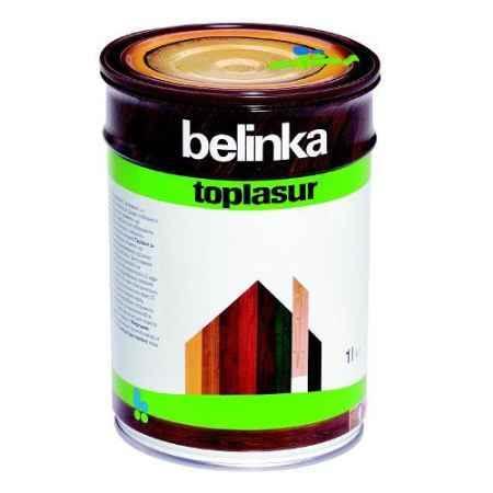 Купить Декоративное лазурное покрытие с уф-фильтрами и абсорбентами  Toplasur №25, 1 л Белинка (Belinka)