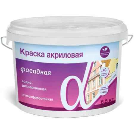 Купить Краска водно-дисперсионная фасадная Альфа, 14 кг. Krafor (Крафор)