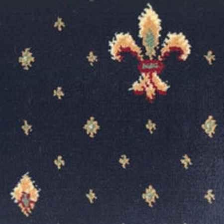 Купить Ковролин коллекция Wellington 4957/30, синий, ширина 4 м. Balta (Бальта)