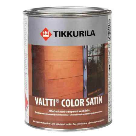 Купить Антисептик для дерева Valti Color Satin (Валтти Колор Сатин) 0.9 л. Tikkurila (Тиккурила)