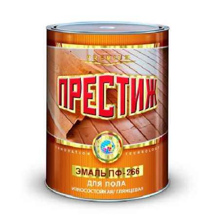 Купить Эмаль ПФ-266 1.9 кг., красно-коричневая Престиж