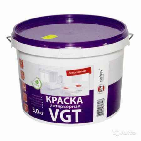 Купить Краска интерьерная ВД-АК 2180, 3 кг ВГТ (VGT)