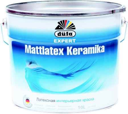 Купить Краска водно-дисперсионная Expert Mattlatex Keramika (Эксперт Матлатекс Керамика), 10 л., база 1 Dufa (Дюфа)