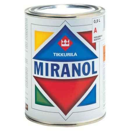 Купить Эмаль алкидная Miranol Тhixotropic (Миранол Тиксотропный) глянцевая База С 0.9 л, Tikkurila (Тиккурила)