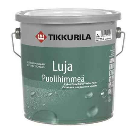 Купить Краска акрилатная Luja (Луя) 20 База С, полуматовая 2.7 л, Tikkurila (Тиккурила)