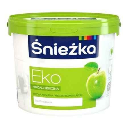 Купить Краска акриловая морозостойкая для стен и потолков Eko 10 л., Sniezka (Снежка)