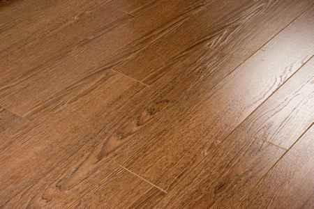Купить Ламинат коллекция Brush Wood, Дуб шоколад 528, толщина 12 мм., 33 класс Ecoflooring (Экофлоринг)