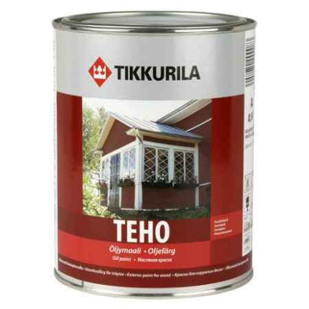 Купить Краска маслянная полуглянцевая Teho (Техо), База С, 0.9 л. Tikkurila (Тиккурила)
